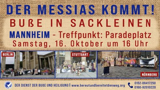 Pressemeldung Buße in Mannheim 16.10.2021